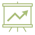 econ growth icon