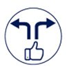 modify turn icon