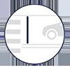 advance stop lines icon